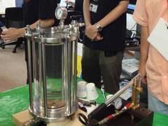 金星の圧力実験.JPG